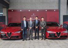Alfa Romeo, tutti pazzi per la Giulia in Cina: 350 vendute in 33 secondi