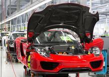 Porsche, superbonus di 9.111 euro ai dipendenti