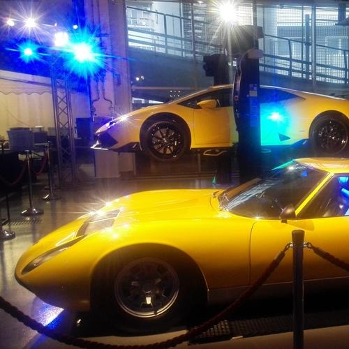 Lamborghini inaugura la nuova concessionaria a milano con for Concessionari lamborghini