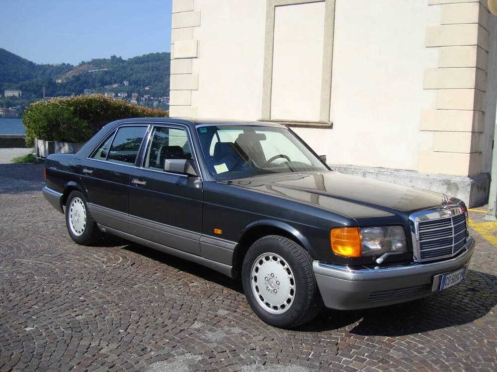 500 SE/M d'epoca del 1988 a Roma (2)