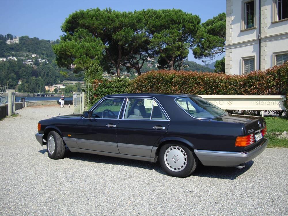 500 SE/M d'epoca del 1988 a Roma