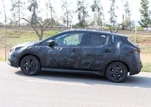 Nissan: immagini della nuova generazione Leaf