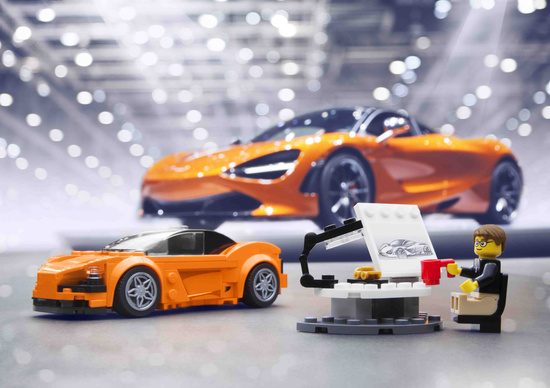 McLaren 720S entra nella gamma Lego Speed Champions