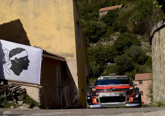 WRC 2017/Citroen. Tour de Corse, fantastico Craig Breen