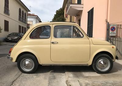 FIAT-110 F (berlina 500) d'epoca del 1967 a Civitanova Marche d'epoca