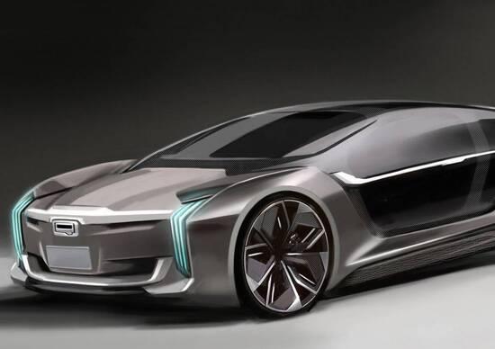 Qoros Model K-EV, elettrica con lo zampino di Koenigsegg
