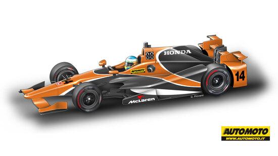 Il 3 maggio primo test in IndyCar per Fernando Alonso