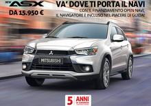 Mitsubishi ASX da 15950 € con Navigatore incluso